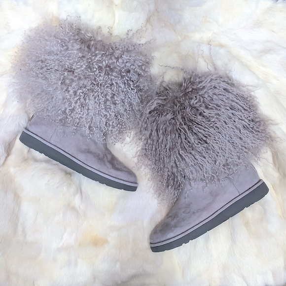 03151f046da UGG | New w/o Box Lamb Fur Lida Boot NWT